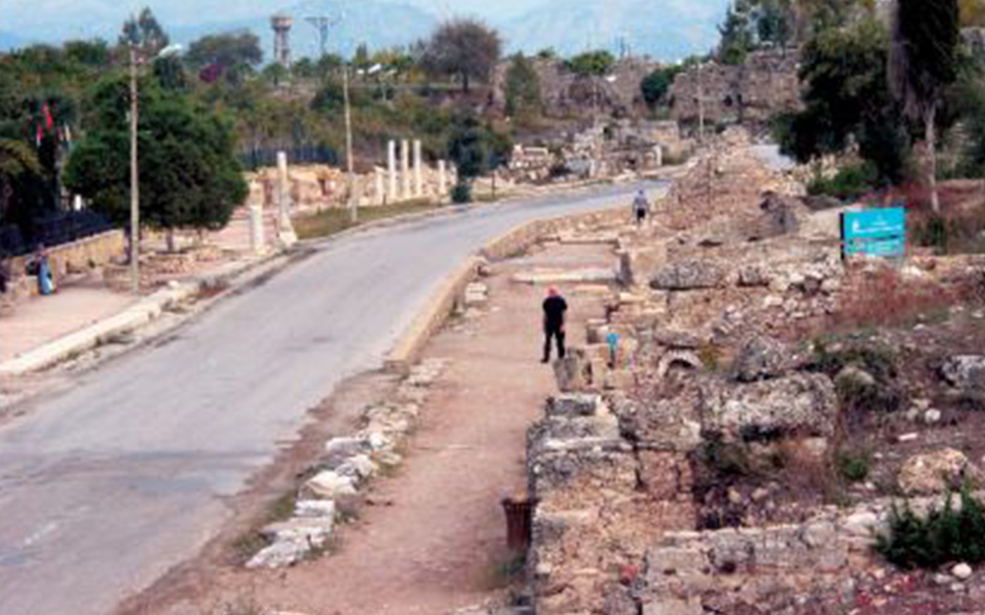 Colonnaded Street in Side